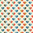 Seamless pattern with heart — Stok Vektör #38767865