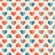 Seamless pattern with heart — ストックベクター #38767951