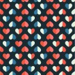 Stockvektor : Seamless pattern with heart