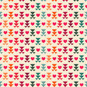 Seamless pattern of Valentine's Day — Stock vektor