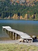 Paisaje de otoño en las montañas — Foto de Stock