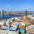 General view on Riga, Latvia — Stok fotoğraf