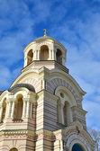 Orthodox cathedral in Riga, Latvia — Stock Photo