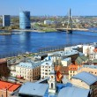 General view on Riga, Latvia — Lizenzfreies Foto