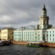 图库照片: General view on Saint-Petersburg embankment