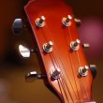 Guitar headstock — Stock Photo #32821467