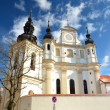 Church in old part of Vinius, Lithuania — Foto Stock