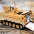 Scale model tank — Stock Photo
