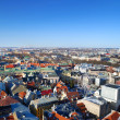 Areal view on the city of Riga, Latvia — Stock Photo