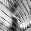 Stock Photo: Metal slinky toy close-up