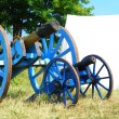 Cannon from napoleonic war times — Stock Photo