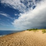 Baltic sea shore. Riga, Latvia — 图库照片