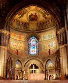 Interior catedral — Foto de Stock