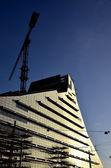 New building construction — Stock Photo