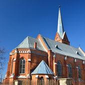 天主教教会在拉脱维亚道加皮尔斯 — 图库照片