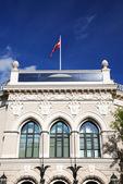 历史建筑在里加,拉脱维亚 — 图库照片