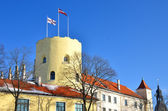 Castello di presidente a riga, lettonia — Foto Stock