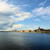 Vista panoramica della città di riga, lettonia — Foto Stock