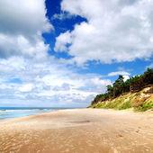 Baltic sea shore. Ventspils, Latvia — Foto de Stock