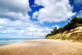 波罗的海沿岸。拉脱维亚文茨皮尔斯 — 图库照片