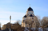 Orthodox cathedral in Vilnius, Lithuania — Stock Photo