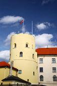 Palazzo presidente lettone — Foto Stock