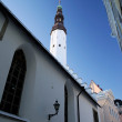 Stock Photo: Tallinn old city part, a church. Estonia