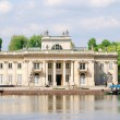 The Lazienki palace in Lazienki Park, Warsaw — Stock Photo #32830931