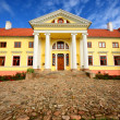 Old mansion of former Russian empire. Durbes castle, Latvia — Stok fotoğraf