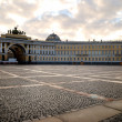 Stock Photo: Saint Petersburg's Palace Square in dramatic light