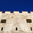 Castle tower close-up against sky — Stock Photo #32833153