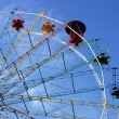 Ferris wheel in Sigulda, Latvia — Stock Photo