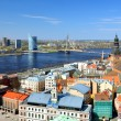 General view on Riga, Latvia — Foto de Stock