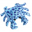 Blue cute toy crab isolated on white — Stock Photo