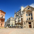 Sqare in old part of Riga, Latvia — Lizenzfreies Foto