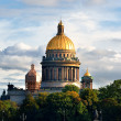 Saint Isaac's Cathedral in Saint Petersburg — Foto de Stock