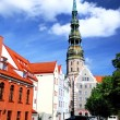 Old city in Riga, Latvia — Stock Photo