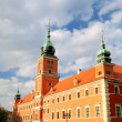 King castle in old town of Warsaw — Stock Photo