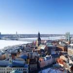City of Riga, Latvia — 图库照片