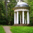 Old summer house in Tukums, Latvia — Stock Photo