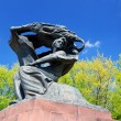 Stock Photo: Frederic Chopin monument in Warsaw
