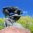 Frederic Chopin monument in Warsaw — Stock Photo