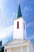 Old Lutheran church in Ikshkile, Latvia — Stock Photo