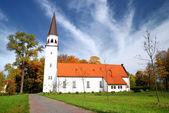 Old luthetan church in Sigulda, Latvia — Stock Photo