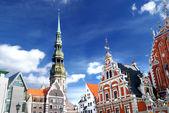 里加,拉脱维亚旧城 — 图库照片