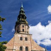 圣伯多禄教堂在里加,拉脱维亚 — 图库照片