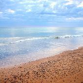 Riva del mar baltico. ventspils, lettonia — Foto Stock