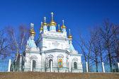 东正教教会在拉脱维亚道加皮尔斯 — 图库照片