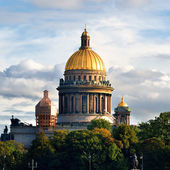Saint Isaac's Cathedral in Saint Petersburg — Stock fotografie