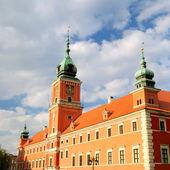 King castle in old town of Warsaw — ストック写真